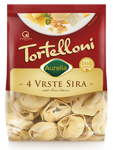 Four cheese Tortelloni Aurelia